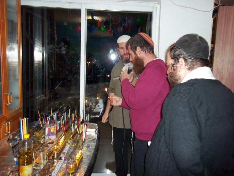 Activites around Shalvat Haim - Chanukah